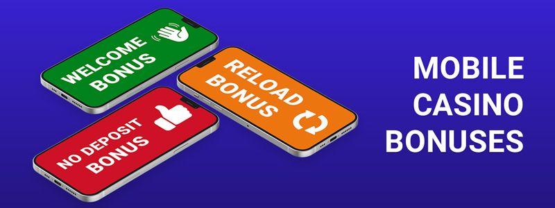 mobile casinos bonuses