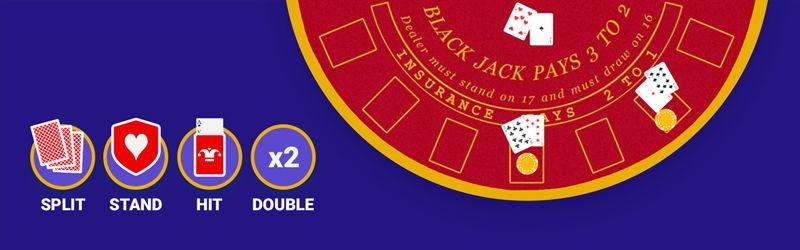 Blackjack main features
