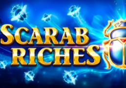 Scarab Riches slot logo